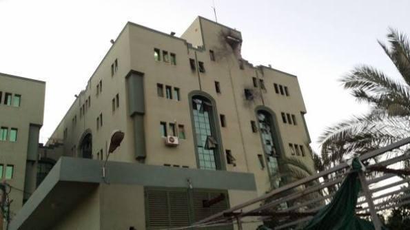 בית החולים אל-ופאא, עזה, 17 ביולי, 9 בערב.