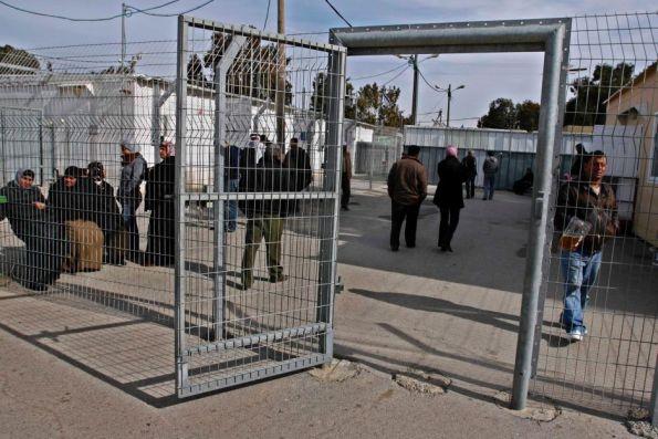 בית המשפט הצבאי במחנה עופר. צילום: דניאל בר און / ג'יני